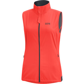 GORE WEAR R3 Windstopper Vest Damen lumi orange
